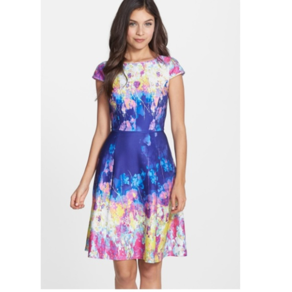 3bb6d577933c Adrianna Papell Dresses & Skirts - Adrianna Papell Fit & Flare Dress
